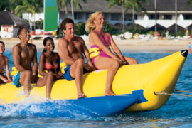 water sports goa banana ride